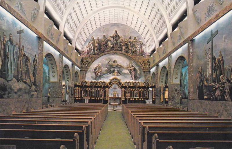 Interior, St. Josaphat´s Cathedral, first Ukranian Catholic Church, Toronto,...