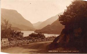 Wales Snowdonia Entrance to Llanberis Pass
