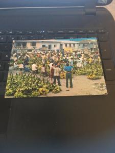Vintage Postcard: Peru, Mercado tipico