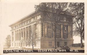 Cedar Falls~State Teachers College~UNI Univ of Northern Iowa Library~RPPC 1911