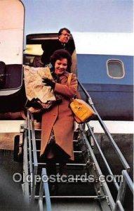 Rosalynn & Jimmy Carter Inaugural Next Day Unused
