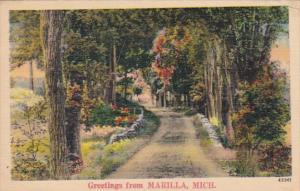 Michigan Greetings From Marilla