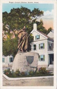 Roger Conant Statue Salem Masssachusetts