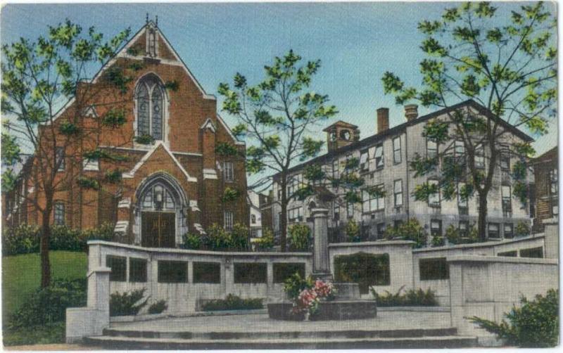 Linen of World War II Memorial Rochester PA Presbyterian Chu