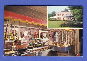 Foxboro, Mass/MA Postcard, The Lord Fox Restaurant, 1960's?