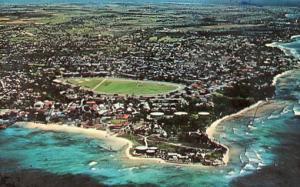 British West Indies - Barbados. Air View, Seawell Airport