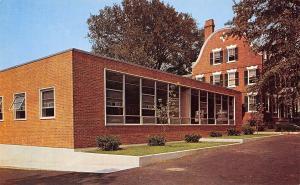 Providence Rhode Island~Bryant College~New Classroom~1960s Postcard