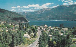 KASLO , B.C. , Canada , 50-60s ; Beside beautiful Kootenay Lake
