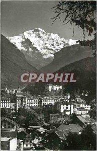 Modern Postcard Interlaken Jungfrau