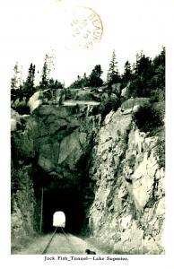 Canada - ON, Lake Superior. Jack Fish Tunnel