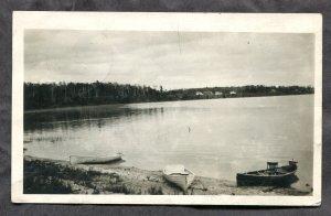 dc1866 - Postmark DEER RIVER Minnesota 1922 Lake. Photo Postcard