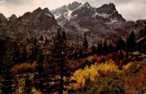 California Sierra Buttes The Glow Of Autumn