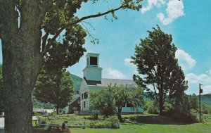 PLYMOUTH NOTCH, Vermont, 1950-1960s; Union Christian Church