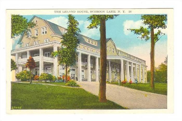 The Leland House, Schroon Lake, New York, 00-10s