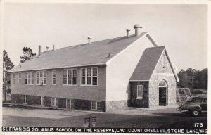 RP: Solanus School at Reserve , Wisconsin , 1930-40s