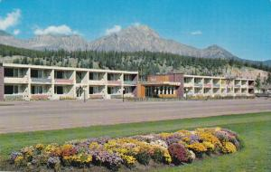 The Andrew Motor Lodge, Jasper National Park, Canadian Rockies, Jasper, Alber...