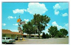 HOLBROOK, Arizona AZ ~ Route 66 Roadside 66 MOTEL ca 1960s  Postcard