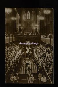 r3272 - Coronation of King George VI & Queen Elizabeth, 12-05-1937 - postcard