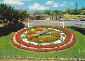 Canada Floral Clock Polson Park Vernon British Columbia