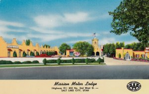 SALT LAKE CITY , Utah , 50-60s ; Mission Motor Lodge