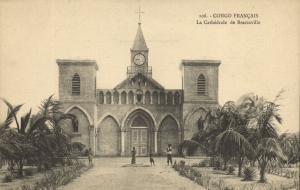CPA Francais Congo Afrique - Le Cathédrale de Brazzaville (86613)