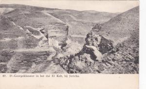 JERICHO, Palenstine; St. Georgeklooster in het dal El Kelt, 00-10s