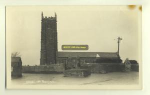 cu1012 - St Baryan Church , Cornwall - postcard