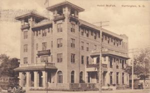 Hotel McFall , Darlington , South Carolina , PU-1921