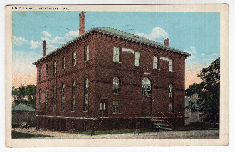Pittsfield, Me, Union Hall