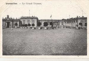 Palace of Versailles France early postcard le grand trianon