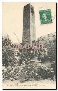 Old Postcard Belfort Mobile Monument