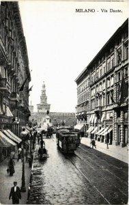 CPA Milano Via Dante . ITALY (541413)