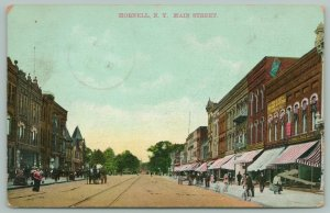 Hornell New York~Main Street~Button's Gallery~Frank B Alley~Bicycles~1908 SL&Co