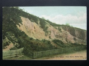 Worcestershire THE LICKEY HILLS Rednal Stone Quarry REDNAL HILL c1905 Postcard