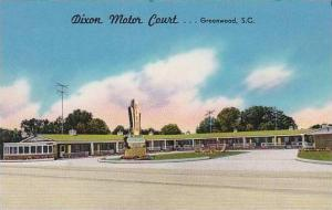 South Carolina Greenwood Dixon Motor Court