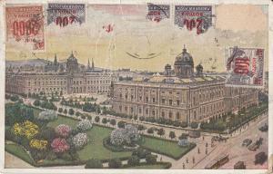 Austria Vienna museum early postcard