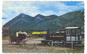 Train Station, Carcross , Yukon , Canada , PU-1977