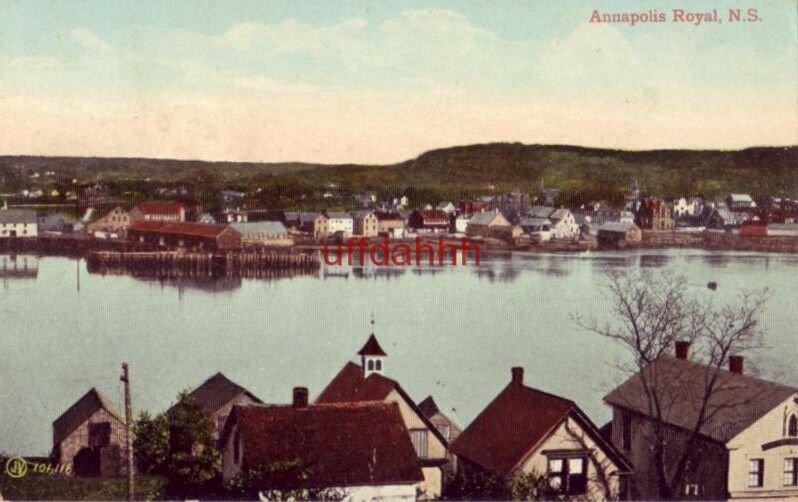 ANNAPOLIS ROYAL NOVA SCOTIA CANADA 1912