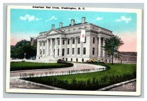 Vintage 1920's Postcard Panoramic View American Red Cross Building Washington DC