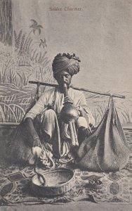 India , 1900-10s ; Snake Charmer