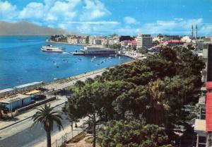 Turkey Izmir Karsiyaka Waterfront Beach Promenade Panorama Postcard