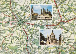 Map Of Tournai Multi View