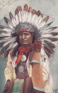 Chief HOLLOW HORN 1906 ; TUCK 2171