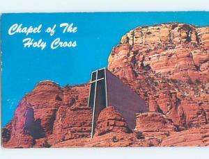Pre-1980 CHURCH SCENE Sedona - Near Flagstaff Arizona AZ A8801