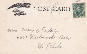 PERKASIE , Pennsylvania, PU-1907 ; Reform Church
