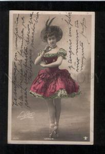 069838 URBAIN Ballet Star Dancer Vintage Photo BOYER