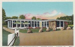 QUECHEE, Vermont, 1949; Dewey Corp. Restaurant & Sales Room, QUECHEE GORGE