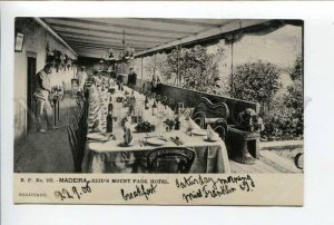 424458 PORTUGAL MADEIRA Reds Mount Park Hotel Vintage postcard