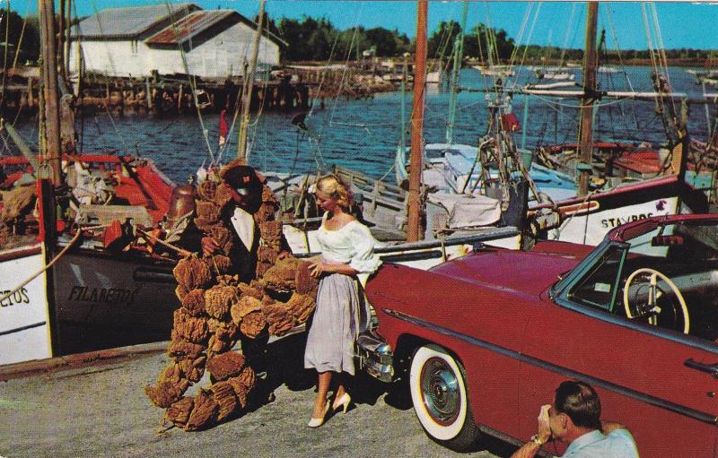 TARPON SPRINGS, Florida, PU-1973; Sponge Industry and Sponge Fleet