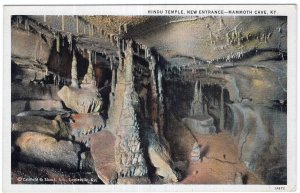 Mammoth Cave, Ky, Hindu Temple, New Entrance